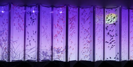 アートアクアリウム 21世紀美術館 ビョウブリウムⅡ