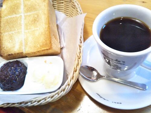 コメダ珈琲のブラックコーヒーコメ黒