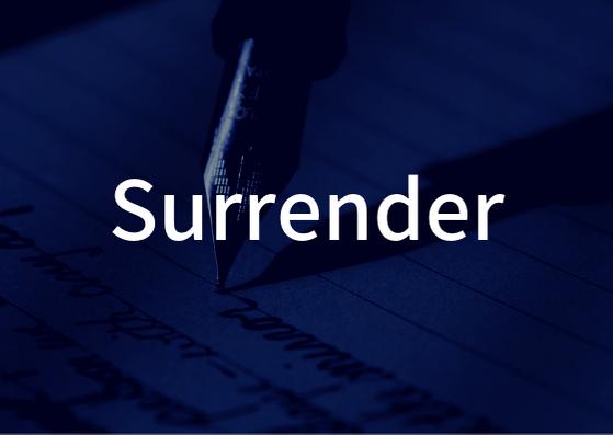 Mr.Children「Surrender」の歌詞の意味・解釈。彼女からの急な別れ話に降伏